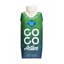 Coco Active coconut water 12x330ml Tetra